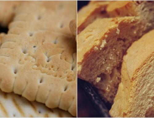 Pão vs bolachas – Quem sairá vitorioso?